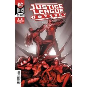Justice League Odyssey (2018) #2 VF/NM Stjepan Šejić Regular Foil Cover