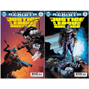 Justice League of America (2017) #'s 15-29 Variant Covers + Annual #1 VF/NM Set