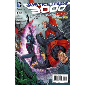 JUSTICE LEAGUE 3000 #2 VF/NM THE NEW 52!
