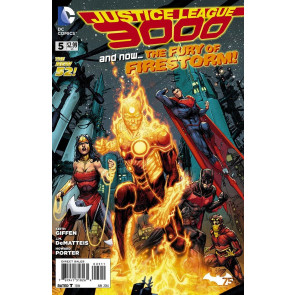 JUSTICE LEAGUE 3000 #5 VF/NM THE NEW 52!