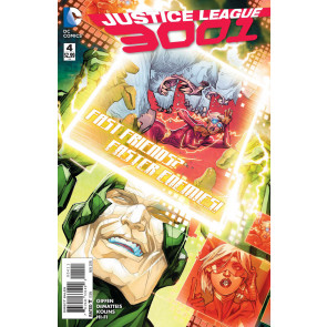 JUSTICE LEAGUE 3001 (2015) #4 VF/NM