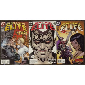 JUSTICE LEAGUE ELITE (2005) #'s 1, 2, 3, 4, 5, 6, 7, 8, 9, 10, 11, 12 COMPLETE