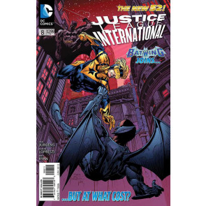 JUSTICE LEAGUE INTERNATIONAL #8 VF/NM THE NEW 52!