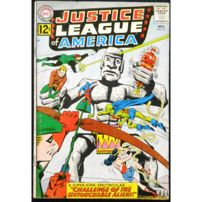 JUSTICE LEAGUE OF AMERICA #15 VG