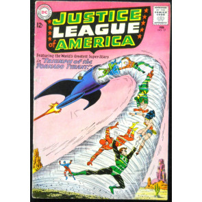 JUSTICE LEAGUE OF AMERICA #17 VG ADAM STRANGE FLASHBACK