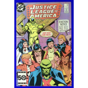 JUSTICE LEAGUE OF AMERICA (1960) #246 FN+