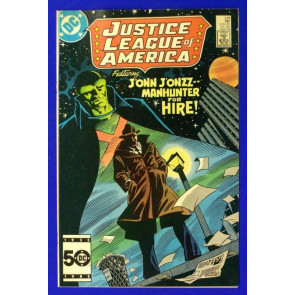 JUSTICE LEAGUE OF AMERICA (1960) #248 VF-