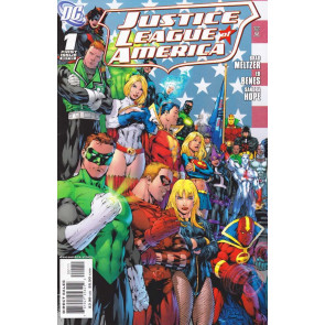 JUSTICE LEAGUE OF AMERICA (2006) #1 VF- COVER A ED BENES JLA