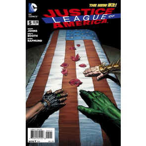 JUSTICE LEAGUE OF AMERICA (2013) #5 VF/NM THE NEW 52!