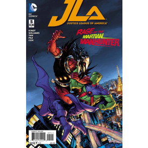 JUSTICE LEAGUE OF AMERICA (2015) #5 VF/NM