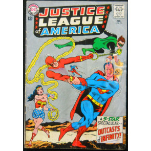 JUSTICE LEAGUE OF AMERICA #25 GD+