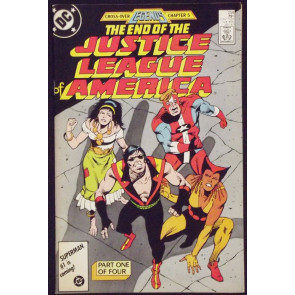JUSTICE LEAGUE OF AMERICA #258 FN/VF DEATH OF VIBE LEGENDS X-OVER