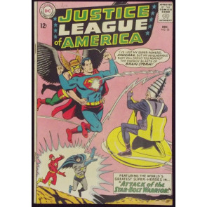 JUSTICE LEAGUE OF AMERICA #32 FN+ 1ST APPEARANCE BRAINSTORM