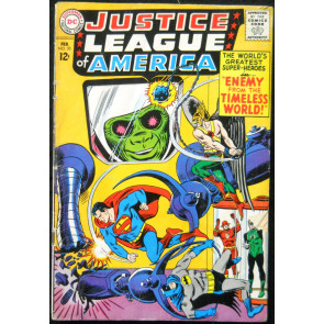 JUSTICE LEAGUE OF AMERICA #33 VG