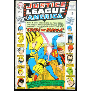 JUSTICE LEAGUE OF AMERICA #38 VG JSA X-OVER