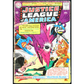 JUSTICE LEAGUE OF AMERICA #40 GD- 3RD SA PENGUIN APP