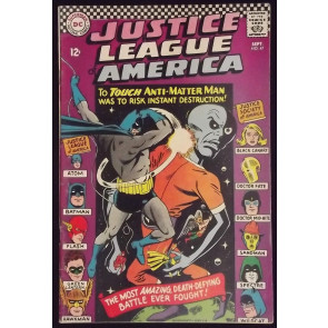 JUSTICE LEAGUE OF AMERICA #47 FN+ JSA X-OVER