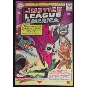JUSTICE LEAGUE OF AMERICA #4O VG/FN