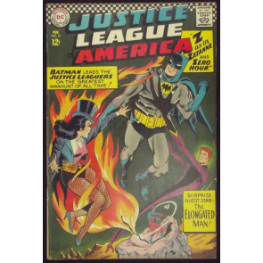 JUSTICE LEAGUE OF AMERICA #51 FN+ EARLY ZATANA COVER