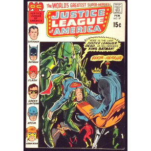 JUSTICE LEAGUE OF AMERICA #87 VF-