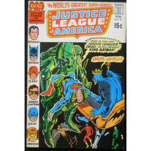 JUSTICE LEAGUE OF AMERICA #87 VF
