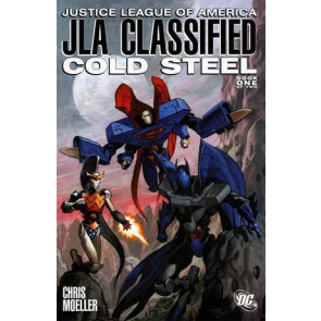 JUSTICE LEAGUE OF AMERICA JLA CLASSIFIED COLD STEEL NM