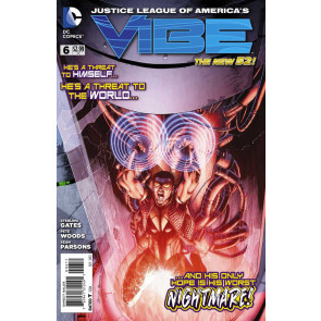 JUSTICE LEAGUE OF AMERICA'S: VIBE #6 VF/NM THE NEW 52!
