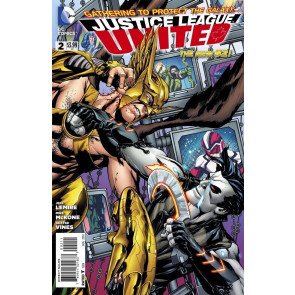 JUSTICE LEAGUE UNITED #2 VF/NM THE NEW 52!