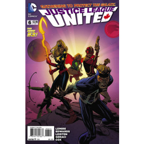 JUSTICE LEAGUE UNITED #6 VF/NM THE NEW 52!