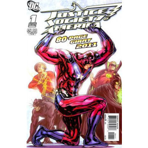 JUSTICE SOCIETY OF AMERICA #1 80-PAGE GIANT 2011 NM