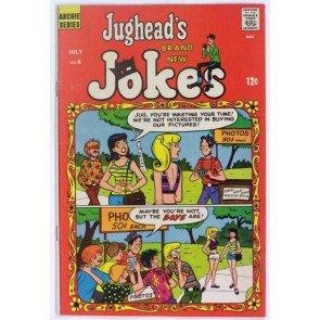 JUGHEAD'S JOKES #6 VF- ARCHIE 1967