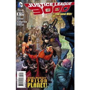 JUSTICE LEAGUE 3000 #3 VF/NM THE NEW 52!