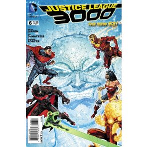 JUSTICE LEAGUE 3000 #6 VF/NM THE NEW 52!