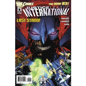 JUSTICE LEAGUE INTERNATIONAL #5 VF/NM THE NEW 52!
