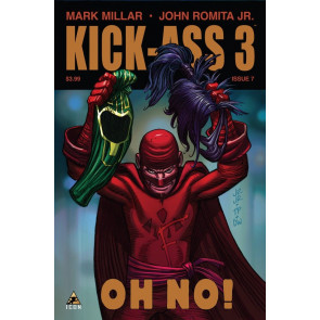 KICK-ASS 3 #7 VF/NM MARK MILLAR JOHN ROMITA JR ICON