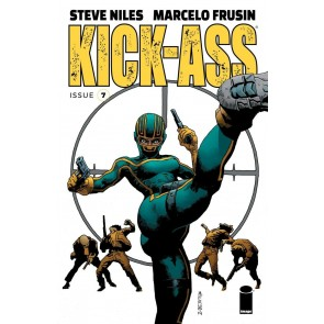 Kick-Ass (2018) #7 VF/NM Steve Niles Marcelo Frusin Cover Image Comics