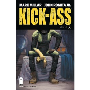 Kick-Ass (2018) #1 VF/NM Second Printing Cover Image Comics