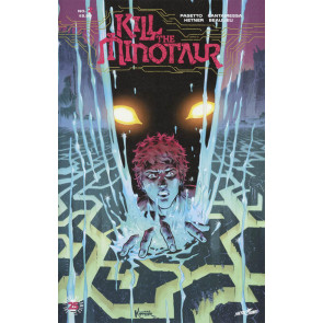 Kill the Minotaur (2017) #1 VF/NM 2nd Printing + Ashcan + #2 1st Printing Image