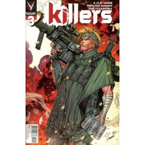 Killers (2019) #3 VF/NM Jonboy Meyers Cover A Valiant