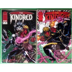 Kindred (1994) 1 2 3 4 complete set Jim Lee Brett Booth Image Comics