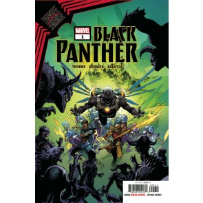 King In Black: Black Panther (2021) #1 VF/NM Leinil Francis Yu Cover