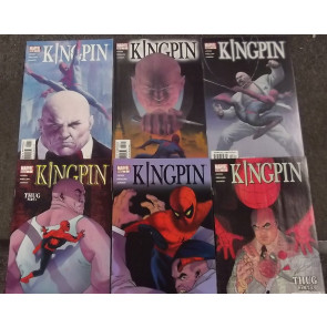 KINGPIN (2003) #'s 1, 2, 3, 4, 5, 6 COMPLETE VF/NM - NM SET SPIDER-MAN