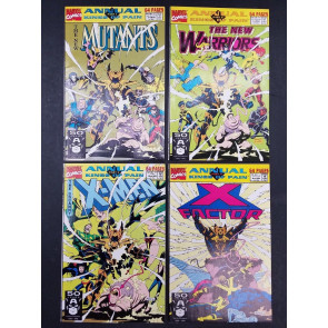 KINGS OF PAIN FULL SET 1-4 VF+ NEW MUTANTS/WARRIORS X-MEN/FACTOR ANN 7,1,6,15