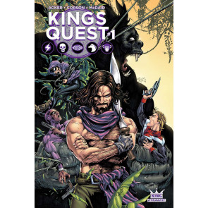 Kings Quest (2016) #1 VF/NM Cover C Dynamite