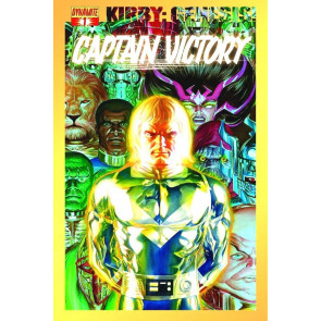 KIRBY: GENESIS! - CAPTAIN VICTORY #1 NM ALEX ROSS COVER A DYNAMITE 2011