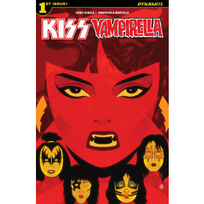 Kiss/Vampirella (2017) #1 VF/NM Cover A Dynamite