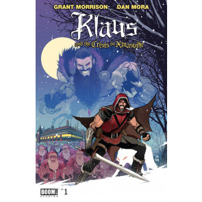 Klaus and the Crisis In Xmasville (2017) #1 VF/NM Grant Morrison Boom! Studios