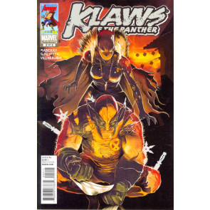 KLAWS OF THE PANTHER #2 OF 4 NM WOLVERINE APP