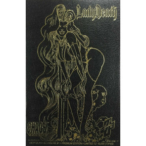 Lady Death In Lingerie (1995) #1 Premium Leather Edition Limited to 10,000