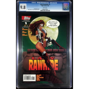Lady Rawhide (1995) #1 CGC 9.8 Mike Mayhew cover Topps Comics (0992207002)
